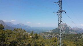 Altınyaka Yolundan Antalya Ovasına Bakın