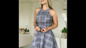 Bayan Yazlık Kıyafetler 2019 Yazlık Elbise Çeşitleri Etek Pantolon Gömlek Modelleri Kadın Moda Giyim