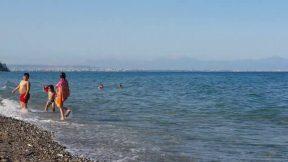 Antalya Deniz Manzarası Dalga Sesi Kargıcak Sahili