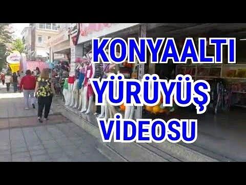 Türkay Otel Sea Life Arası Yürüyüş Videosu Konyaaltı Kent Meydanı Antalya Şehir İçi Gezi Tatil Tur