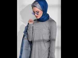 Tesettür Kıyafetler 2019 Kapalı Tunik Elbise Gömlek Etek Abiye Modelleri Çeşitleri