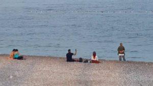 Antalya Deniz Manzarası Konyaaltı Beach Antalya Gezi Tatil