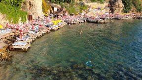 Mermerli Plajı Yat Limanı Antalya Denize Girilen Yerler Gezi Tatil