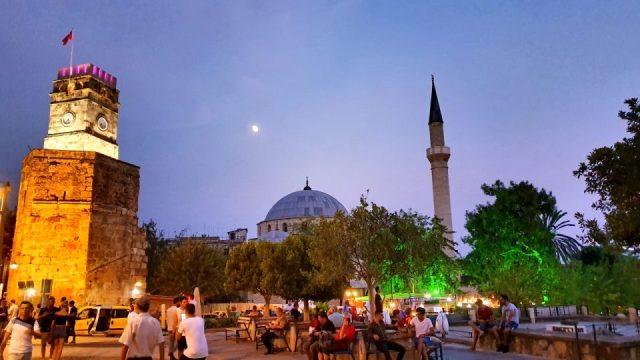 Antalya Kalekapısında Akşam Manzaraları