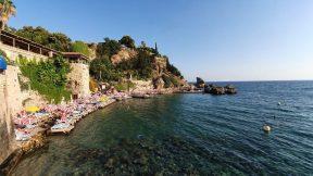 Antalya Mermerli Plajı - Yat Limanı