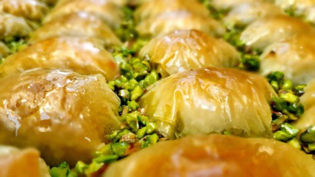 Antep Fıstıklı Baklava Şöbyet - Nasreddin Restaurant Antalya