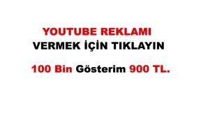 Antalya'da Youtube Reklamı