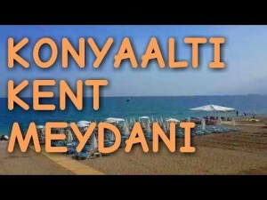 Konyaaltı Kent Meydanı Yürüyüş Yolu Konyaaltı Plajı Deniz Manzarası Antalya Gezi Tatil Tur