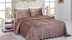 Yatak Örtüsü Modelleri 2019 - Ev Tekstil Tasarım Moda Fikirleri