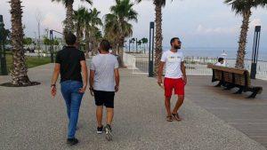 Konyaaltı Sahili Yürüyüş Yolu Antalya Gezi Tatil - Full