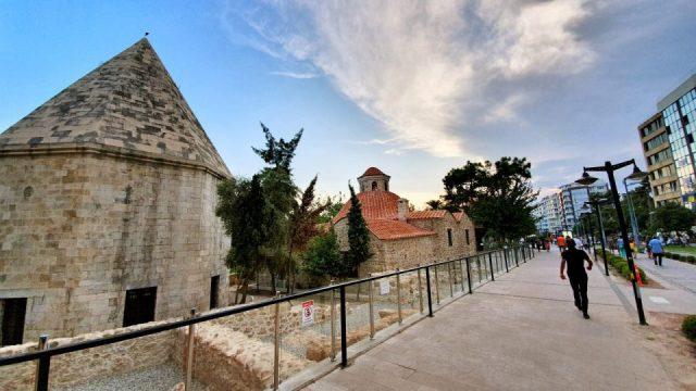 kale kapisi antalya kapali yol saat kulesi manzara fotoğraflari (8)