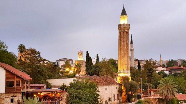 Kaleiçi - Antalya Yivli Minare Manzara Fotoğrafları