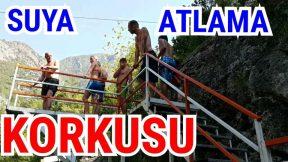Suya Atlama Korkusu - Atlayanlar ve Atlayamayanlar Holiday in Alanya Tatil Dimcayı