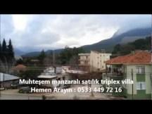 Antalya Satılık Triblex Villa - Çakırlar Akdamlar Köyü - 782 m2 - 350 bin TL