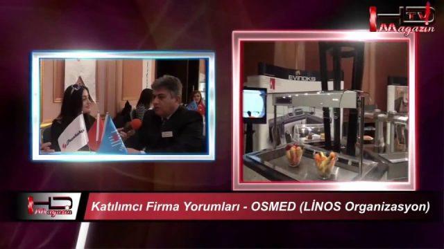 Linos Ajans - OSMED Türkiye Satınalma Platformu Gastronomi Sektör Buluşması Antalya 2013