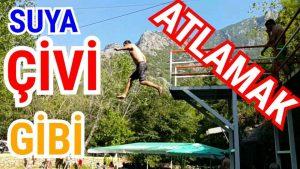 Ağır Çekimde Suya Atlama - Çivi Gibi - Things to do in  Alanya Tatil Yerleri Dimçayı Holiday
