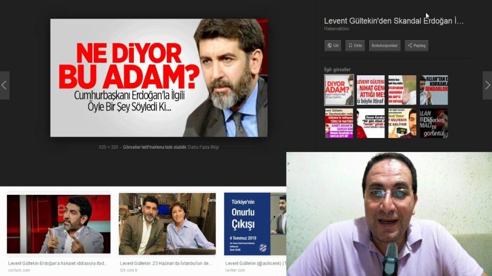 Kim bu Levent Gültekin, neler söylüyor ? Yeni siyasi söylemler – Ali Aksoy