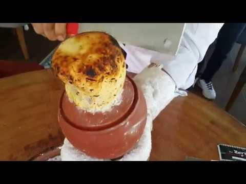 Testi Kebabı Sunumu - Testi Kebabı testisi nasıl kırılır ?