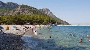 Küçük Çaltıcak Plajı Yürüyüş - Antalya Piknik Alanları Gezi Tatil - 6/7