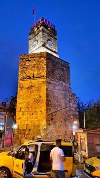 saat kulesi antalya kale kapisi kaleici manzara (3)