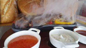 Fajita Sunumu Nasıl Yapılır ? Fajita yemeği görünümü ve servisi
