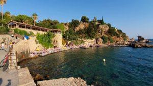 Mermerli Plajı - Yat Limanı Antalya Deniz Manzaraları Gezilecek Yerler
