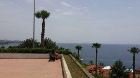 Antalya Atatürk Parkı Deniz Manzarası - Antalya Şehir Merkezi Gezi Tatil Tur