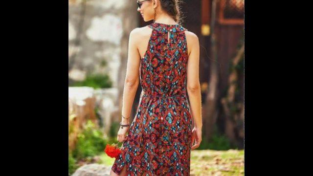 Bayan Yazlık Giysiler 2019 Kadın Moda Bayan Elbiseleri Kıyafetleri Kombin Çeşitleri