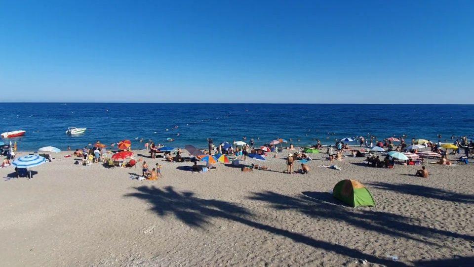 Deniz Manzarası – Antalya Plajı Konyaaltı Beach Gezilecek Yerler