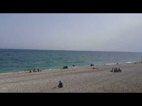 Konyaaltı Kumsalı Antalya Deniz Manzarası