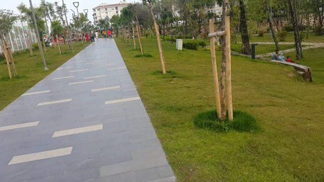 Yeni Boğaçayı Parkında Yürüyüş Antalya Gezi Tatil - 5/8