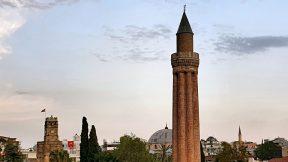 Yivli Minare Kale Kapısı Kaleiçi Antalya Manzaraları