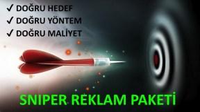 Sniper Reklam Paketi - 1.000 TL.