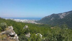 Altınyaka Yolu Antalya Deniz Orman Manzarası Antalya Gezilecek Yerleri Doğal Güzellikleri