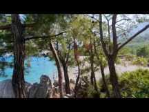 Küçük Çaltıcak Kayalıkları ve Çam Ormanı Manzarası