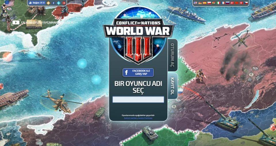 operasyon haberi – turkiyeye saldiri oyununun acilis sayfasi