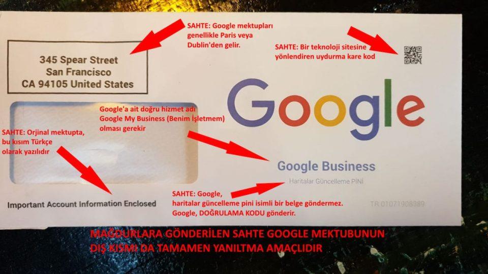 google dan mektup geldi diyerek dolandırıyorlar (2)