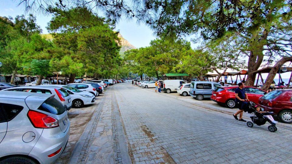 Topçam Antalya Piknik Mangal Alanları Deniz Manzarası (8)