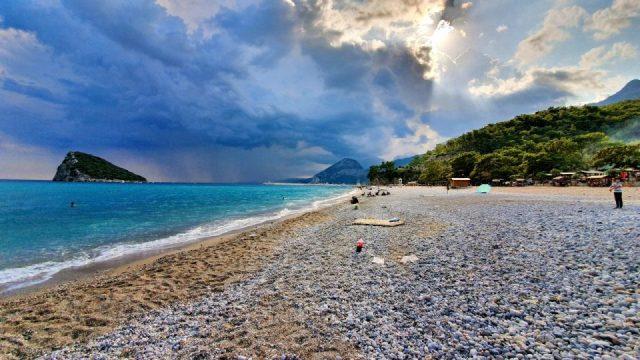 Topçam Antalya Piknik Mangal Alanları Deniz Manzarası (9)