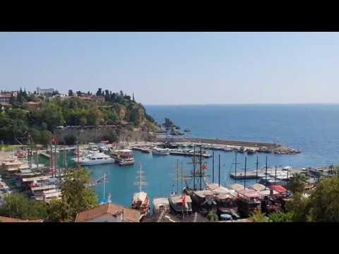 Antalya Yat Limanı Kaleiçi Manzarası