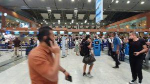 İstanbul Sabiha Gökçen Havalimanı Iç Hatlar Yolcu Terminali