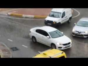 Antalya'da Şiddetli Yağış - Kış Geri Geldi