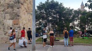 Antalya Kale Kapısı Tramvay Yolu