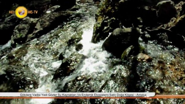 Antalya Gökdere Vadisi ve Yedi Gözler Su Kaynakları