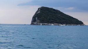 Antalya Topçam Piknik Alanı ada Manzarası