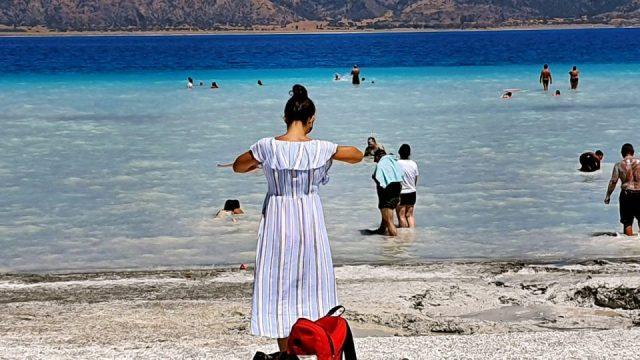 beyaz adalar plajı manzara salda gölü sahilleri_2