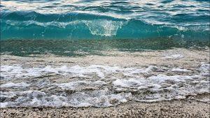 Dalga Sesleri Deniz Dalgaları Antalya Denizi Doğal Güzellikler Konyaaltı Plajı