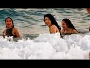 Köpük Köpük Dalgalar - Antalya Deniz Kıyısı - Konyaaltı Plajlarından Manzaralar