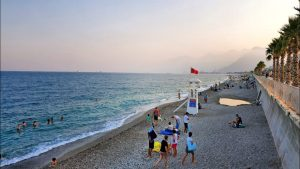 Konyaaltı Plajları Antalya - 20.07.2020