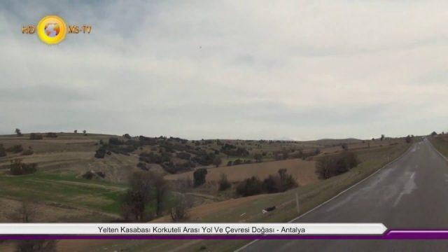 Korkuteli Yelten Kasabası Görüntüleri Antalya